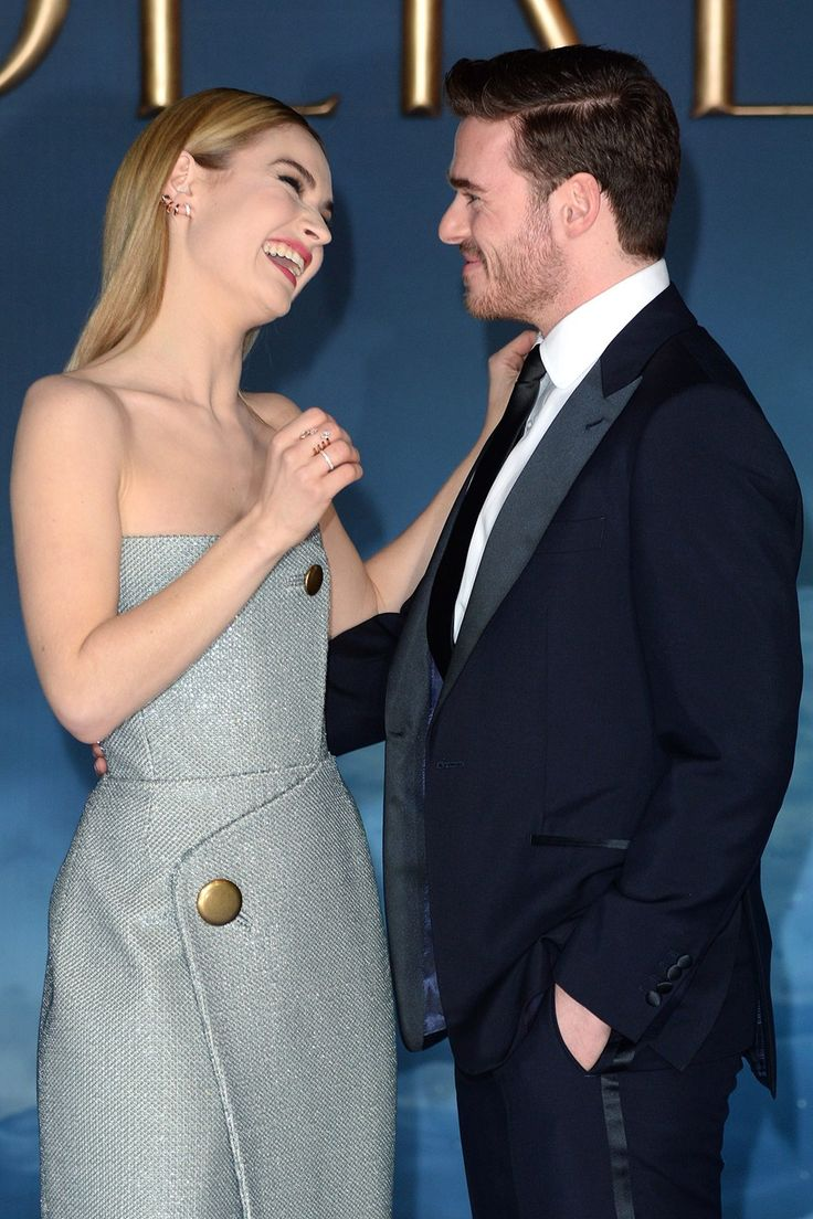 Lily James & Richard Madden are so dreamy together