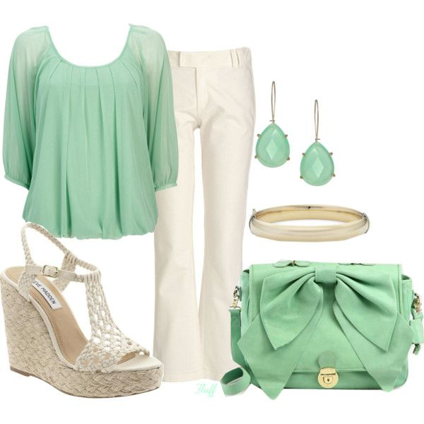 <3: Seafoam Green, Mint Green, Polyvore Mystyl, Color, Outfit, Polyvore My Styl, Fashion Inspiration, Random Pin, Amazing Pin