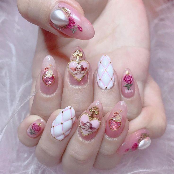ангел на ногтях фото иногда называют