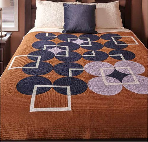 Heather Black puts a modern spin on the Drunkard's Patch block with this Scandinavian inspired modern quilt pattern.