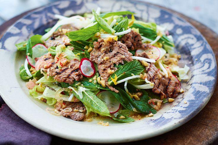 Rediscover classic Cambodian cuisine with this fresh and lively marinated beef salad.