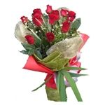Beautiful red roses online bouquet from Phoolwala.com