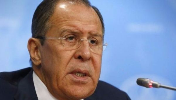 Russian Foreign Minister Sergey Lavrov   Foto: Reuters