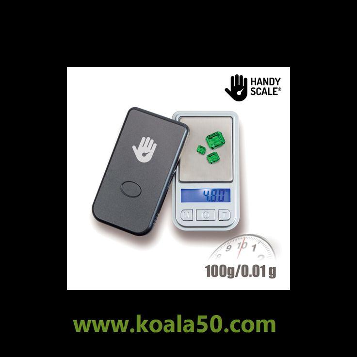 Báscula Digital de Bolsillo Handy Scale - 7,22 €   Descubre labáscula digital de bolsillo Handy Scale. Esta balanza de precisión pesa aprox. 30 g y cabe en el bolsillo. La base para pesar es de acero inoxidable y la tapa protectora de plástico....  http://www.koala50.com/gadgets-originales/bascula-digital-de-bolsillo-handy-scale