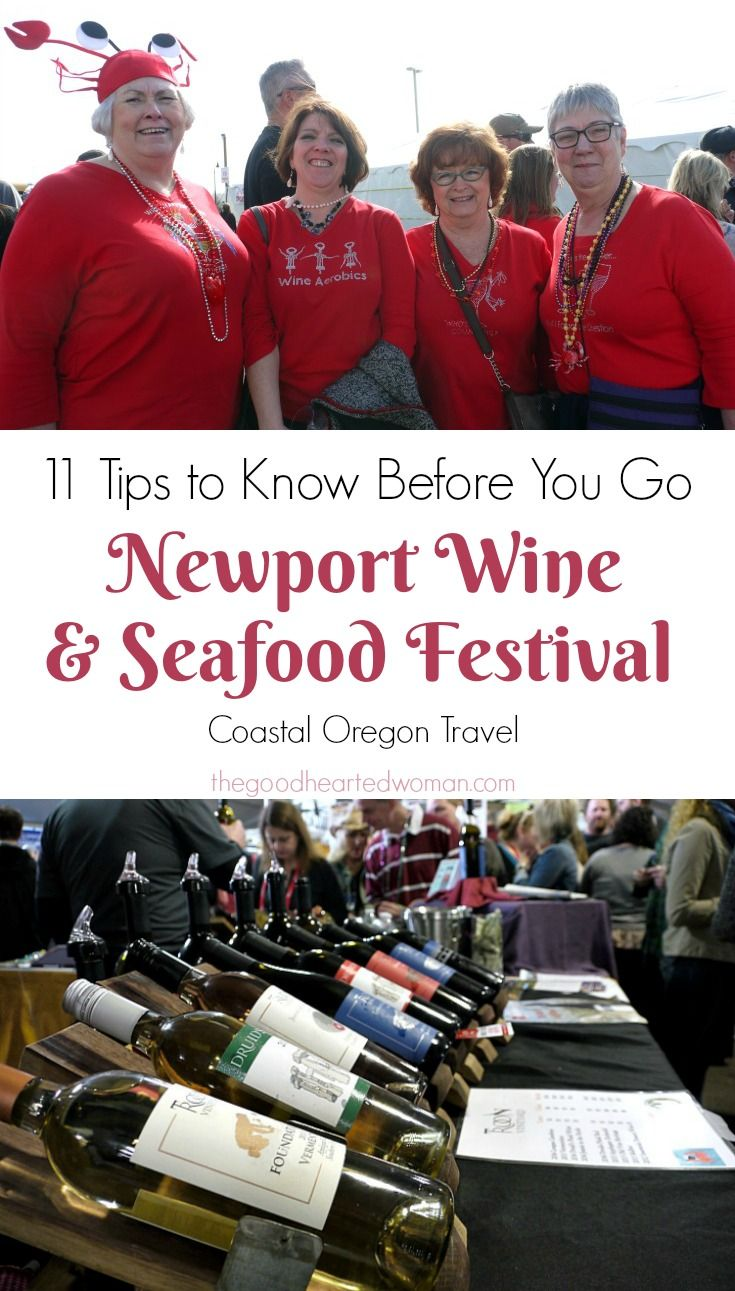 Newport Seafood Wine Festival 11 Tips To Know Before Your Go Oregon Travel Usa Drinks Wine Festival
