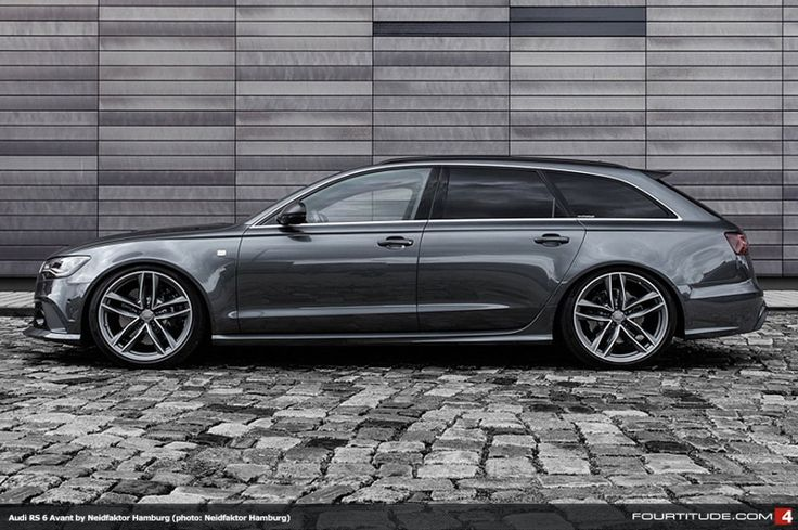 This is my next car... The awesome RS6...  Neidfaktor Hamburg Tailored Audi RS 6 Avant