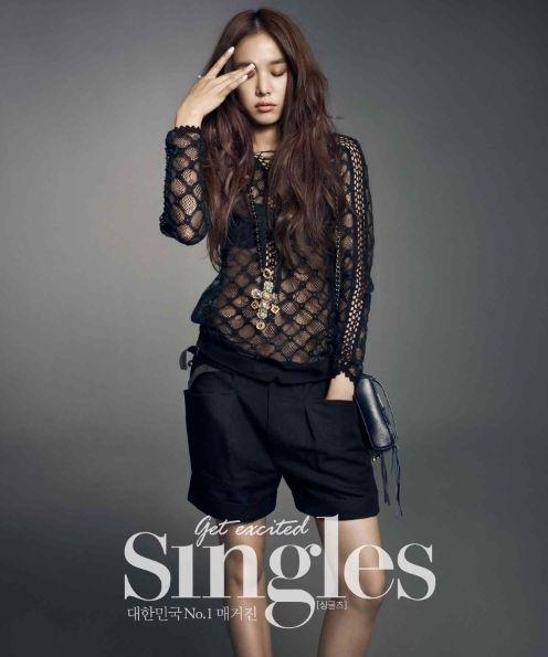 Jo Yoon Hee - Singles Magazine February Issue '14