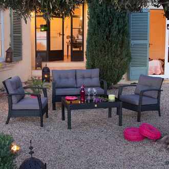 Die 25+ besten Salon jardin pas cher Ideen auf Pinterest | Meuble ...