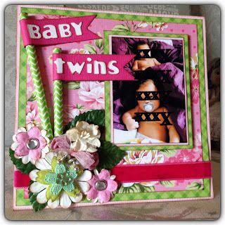 Randis hobbyverden: BABYKORT til to små jenter