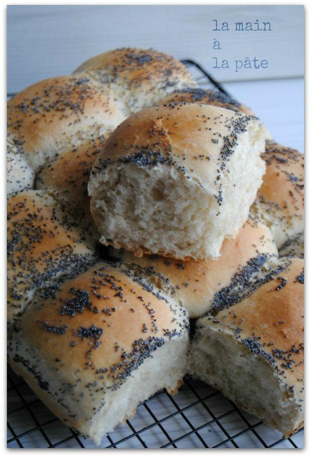 Petit pain moelleux tout doux {thermomix ou pas}