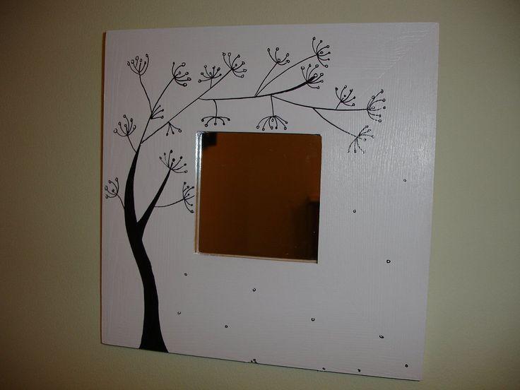M s de 1000 ideas sobre marcos de espejos pintados en - Espejos sin marco ikea ...