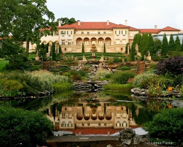 The Philbrook Museum in Tulsa is one of the top 50 fine art museums in the United States.