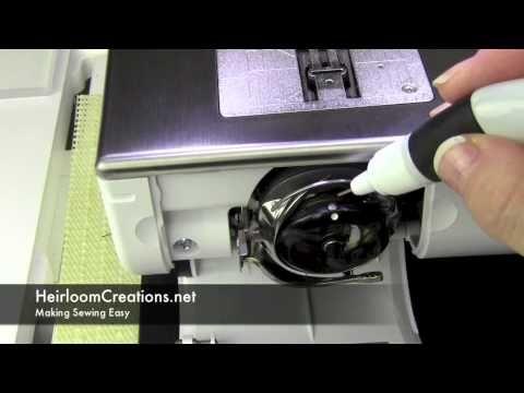 How to Clean a Bernina 830, Bernina 820 or 8 Series Sewing Machine