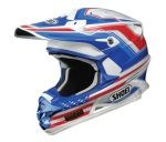 Shoei VFX-W Salute Off-Road Motorcycle Helmet