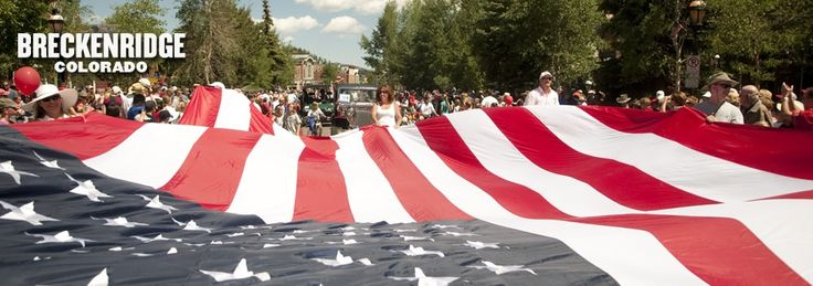The Fourth of July Celebration in Breckenridge, Colorado is awesome! | Breckenridge Events