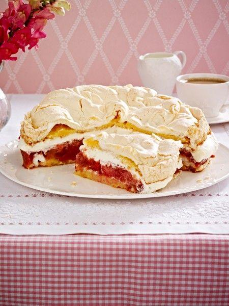 Rhabarberkuchen Rezepte: Frühlingserwachen