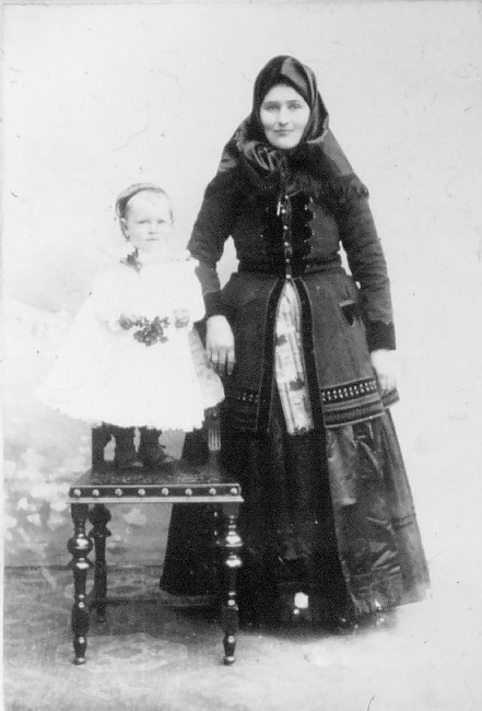 Romania - old photos (Germans from Banat)