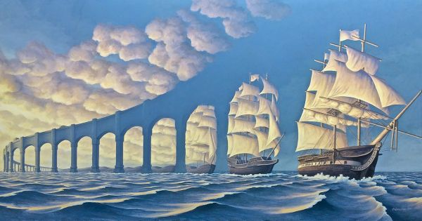 Every time an artist creates, they give a gift to the world. Art excites us. It inspires us. It challenges us. But confuses us? You have to see these paintings and then see them again! All is not as it appears to be! Canadian artist, Robert Gonsalves' paintings have a way of making you question [...]