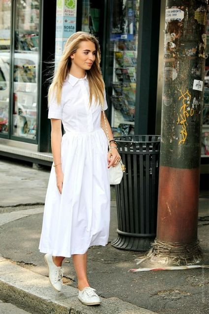 Summer is that time when you should wear dresses. Here are some shirtdresses outfits you can repeat to look gorgeous this summer.