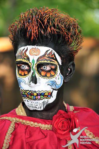 Sugar skull face paint