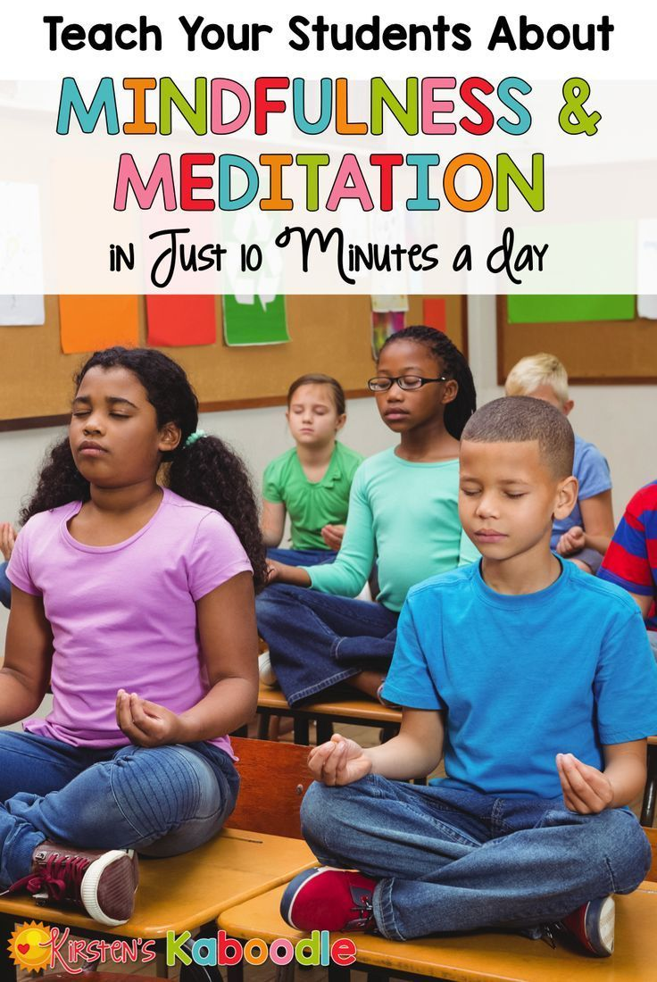 Are you interested in teaching your students about mindfulness and meditation? Research shows that providing mindfulness and meditation instruction to kids improves academic achievement and reduces anxiety and stress. Give it 10 minutes each day and watc