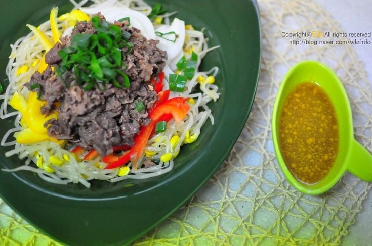 여름요리 소고기 야채 냉채 : 네이버 블로그