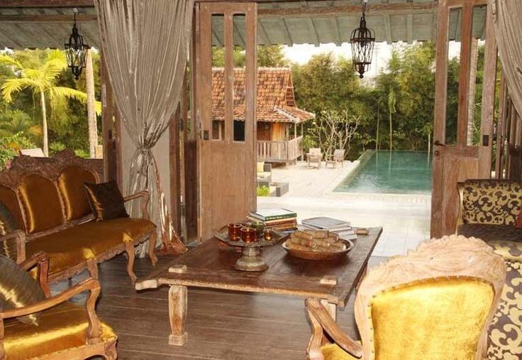Antique Javanese Joglo Villa