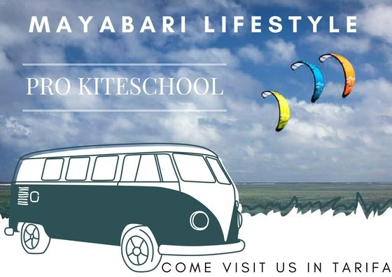 Learn kitesurfing with us!  Visit this link: http://www.mayabari.com/kiteschool/ #kiteschool #kitesurfingschool #kitesurfing #kite #personaltraining #tarifa #spain #andalucia #cadiz #ozonekites