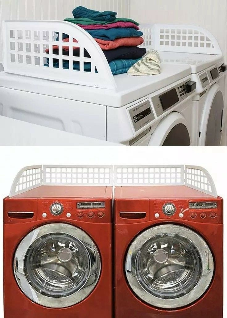 Laundry   Wash Room Keep socks and other top-of-the-washer clothes from falling off with one of these Laundry Guards.