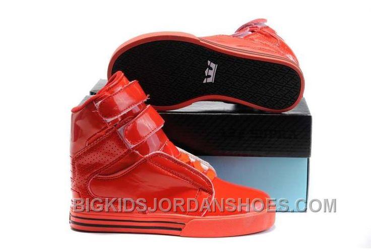 http://www.bigkidsjordanshoes.com/hot-supra-tk-society-kids-all-red-patent.html HOT SUPRA TK SOCIETY KIDS ALL RED PATENT Only $85.00 , Free Shipping!