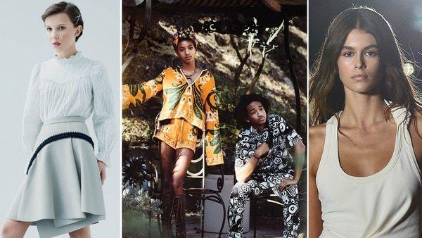 Millie Bobby Brown, Jaden y Willow Smith y Kaia Gerber, entre los adolescentes más influyentes del 2017