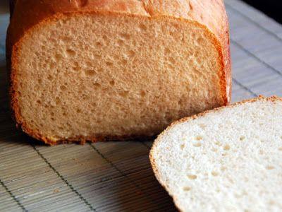 Pan de yogur y miel, receta para #panificadora #cocina