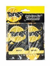 Tango Car Air Freshener 2 Pack Lemon