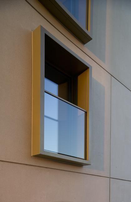 Fassaden-Detail: Wohnhaus in Neu-Ulm - DETAIL.de - das Architektur- und Bau-Portal
