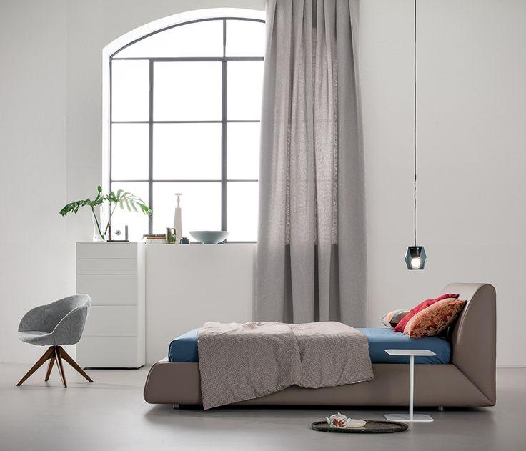 Nova #letto #bed #letto imbottito #padded bed