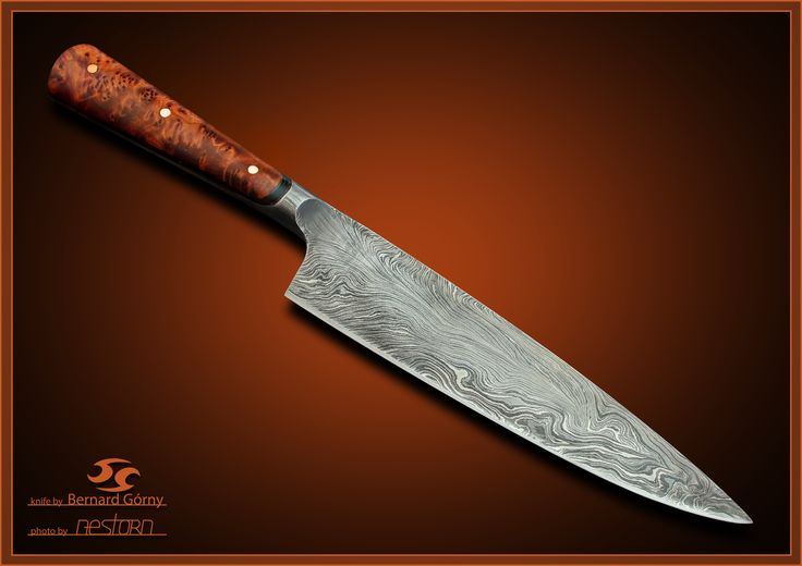 kitchen knife autor bernard Gorny