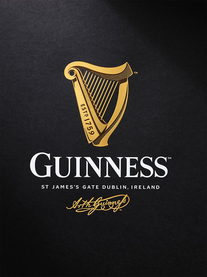 Design Bridge has created a new harp icon for Guinness, redrawing the brand mark in collaboration with traditional harp makers Niebisch & Tree, letter press studio New North Press and illustrator Gerry Barney.