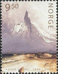 Peder Balke postage stamp.