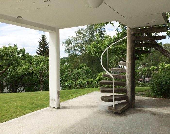 Villa Stenersen by Norwegian architect Arne Korsmo