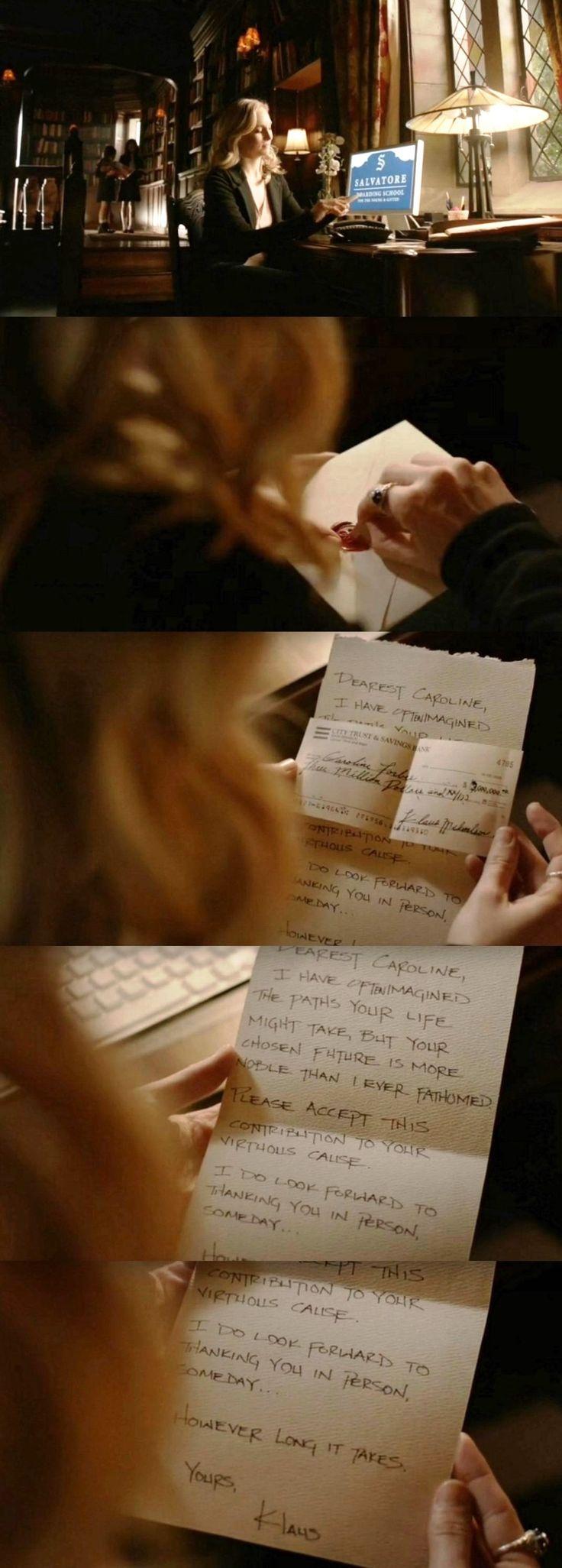 The Vampire Diaries TVD S08E16/Season finale - Caroline & Klaus