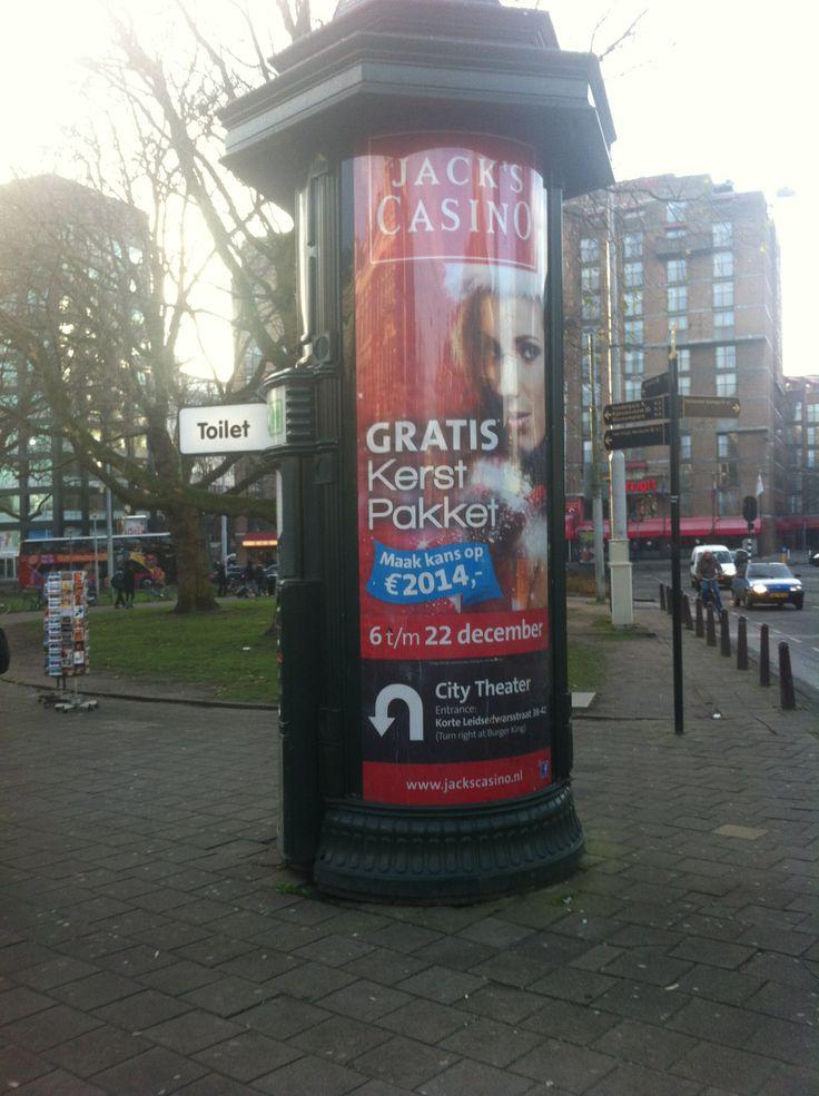 Jack's Casino. Sterkte: goede en aantrekkelijke actie staat aangegeven op de poster en zelfs de route.