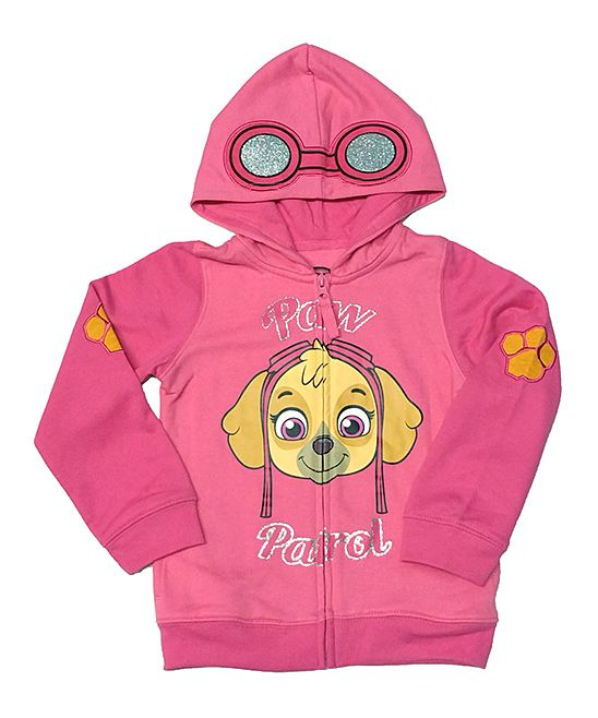 Hot Pink Paw Patrol Skye Zip-Up Hoodie - Toddler