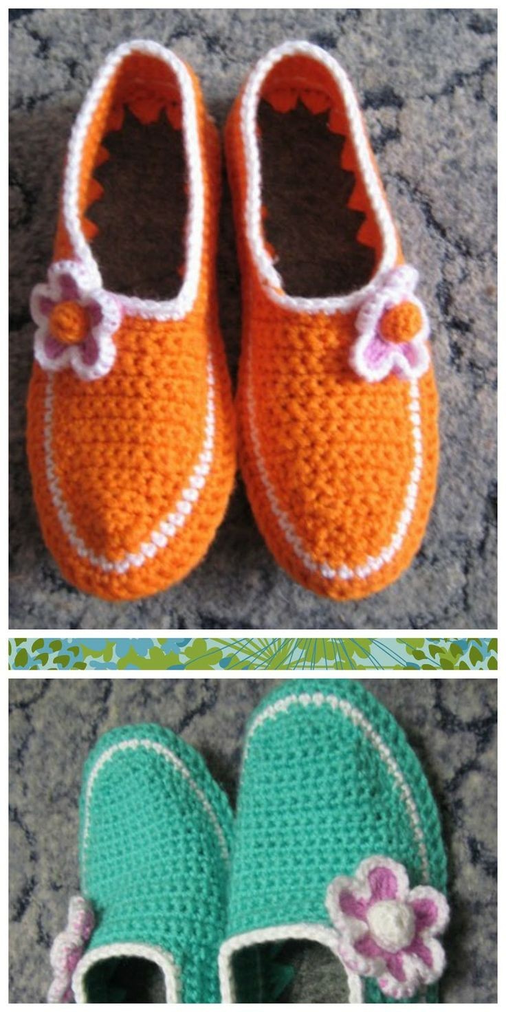 Increíble Zapatilla Patrones De Crochet Libre Molde - Manta de Tejer ...