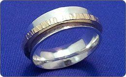 Silversmithing - Spinner Ring