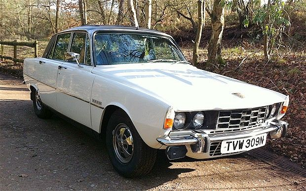 Rover P6 classic car review (The Telegraph)