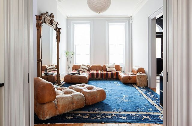 VM designblogg: Μποέμ Κατοικία στη Νέα Υόρκη