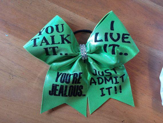 Cheerbow , cheerbows, cheer bow , bella bows, cheer bows, cheerleader , blue cheer bow, green cheer bow, blue and green  cheer bow