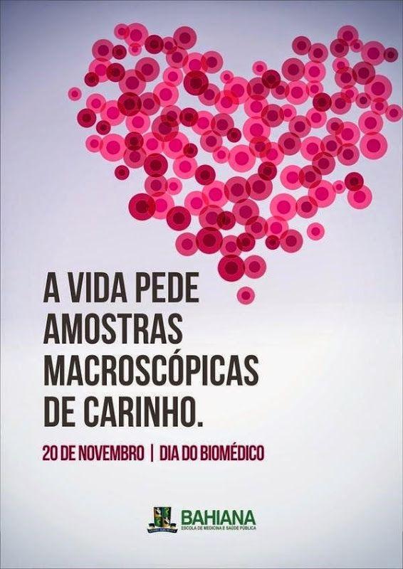 Dia do Biomédico, 20 de novembro, é lembrado por empresas e instituições