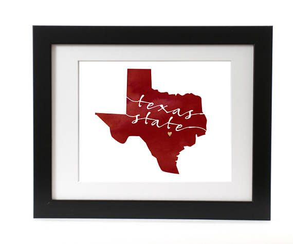 Digital Texas State Print, TSU, San Marcos