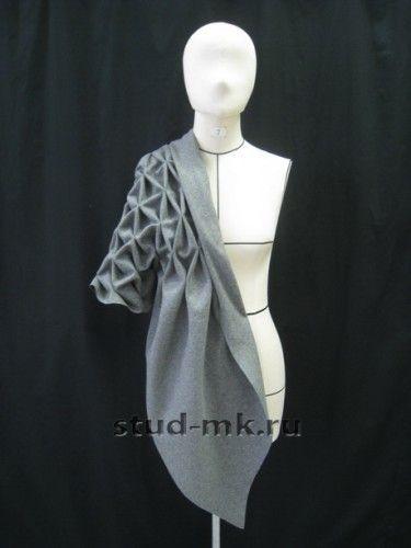 Студия Модного Кроя - Фактурирование ткани
